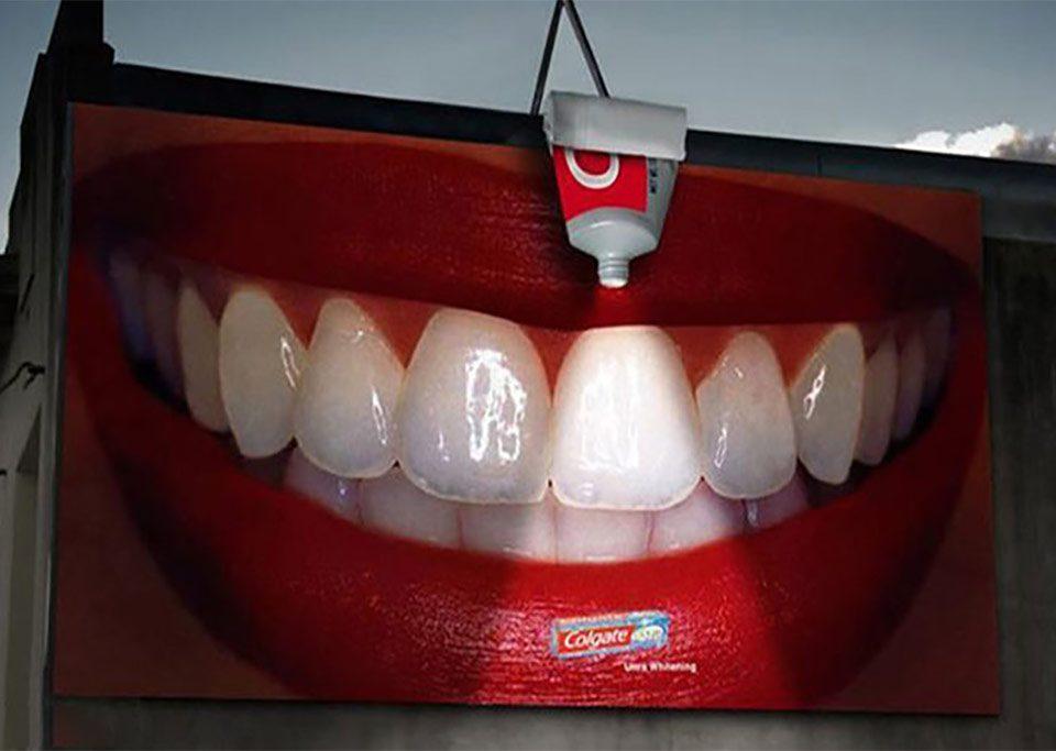 تبلیغات خلاقانه دندانپزشکی