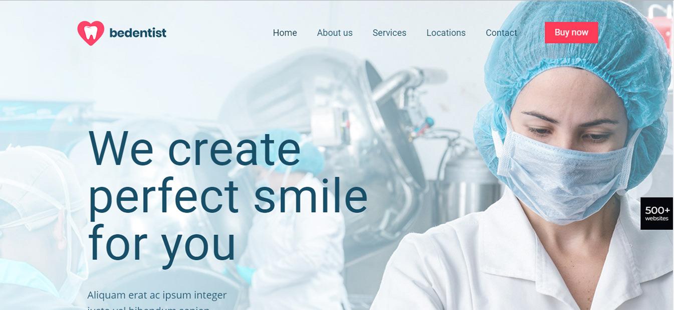 طراحی وب سایت مراکز تجهیزات پزشکی